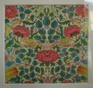 Ungerahmtes florales Motiv