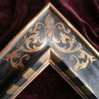 Vergoldetes Rahmenmodell im Renaissance-Stil
