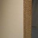 Bild von Melamin-Beschichtete Birke-Multiplexplatten, 18mm, 250x125cm, deckend weiß matt, Holzstruktur schwach erkennbar