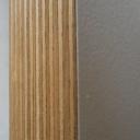 Bild von CPL-Beschichtete Birke-Multiplexplatten W980ST15, weiß, 30mm, 250x125cm