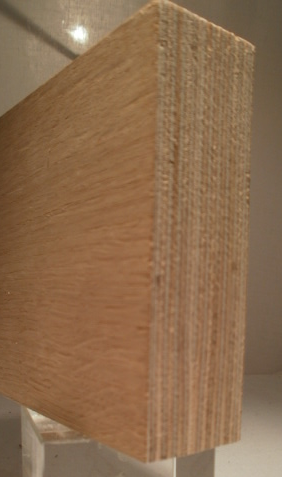 Bild von EICHE-Multiplexplatten, 30mm, 250x125cm