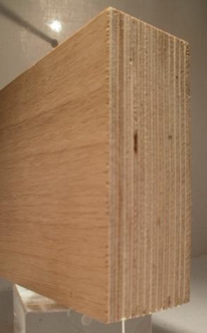 Bild von EICHE-Multiplexplatten, 40mm, 250x125cm