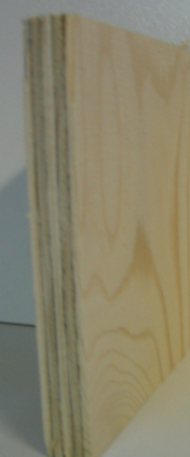 Bild von Nadelsperrholzplatte, 9 mm, 250 x 125 cm