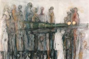 Menschenkettenbild 1