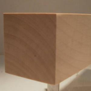 Link zu massiven Quadratstäben / Quadratleisten aus Edelholz
