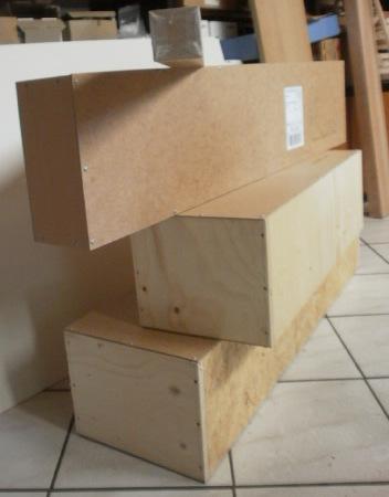 Verpackung für schwere Waren