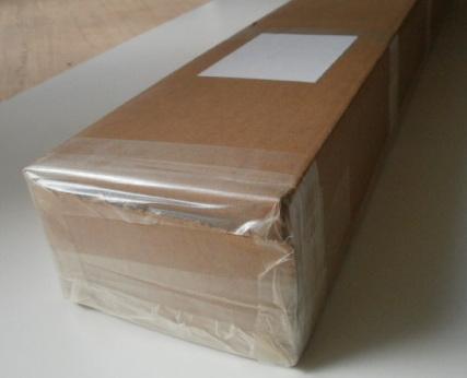 Verpackung für leichtere Waren