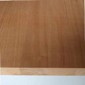 Kirschbaum-Leimholzplatte mit durchgehenden Lamellen