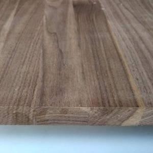 Amerikanisch Nußbaum-Leimholzplatten mit durchgehenden Lamellen