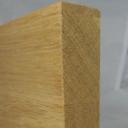 Bild von Eiche-Leimholzplatte, keilgezinkte Lamellen, 27mm, Möbelqualität
