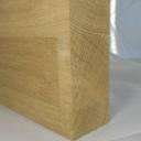 Bild von Eiche-Leimholzplatte, keilgezinkte Lamellen, 38mm, Möbelqualität