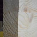 Bild von Kiefer-Leimholzplatte, durchgehende Lamellen, 40mm, 250x122cm