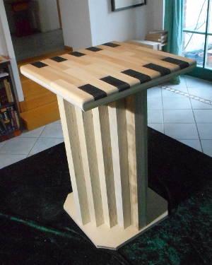 Hocker Birke-Multiplexplatte