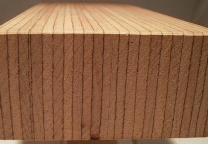 Buche-Multiplexplatte, Schichten