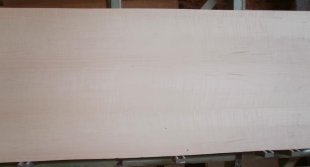 Ahorn-Multiplexplatte : Ansicht der Furnierbildes einer ganzen Platte