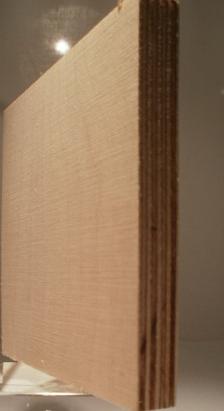 Bild von Birke-Multiplexplatten, schälfurniert, 12mm, 150x300cm, BB/BB