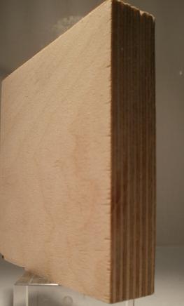 Bild von Birke-Multiplexplatten, schälfurniert, 21mm, 150x300cm, BB/BB