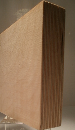 Bild von Birke-Multiplexplatten, schälfurniert, 24mm, 250x125cm, S/BB, längsfurniert