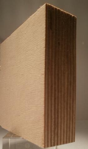 Bild von Birke-Multiplexplatten, schälfurniert, 30mm, 250x125cm, S/BB, längsfurniert
