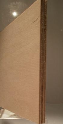 Bild von Birke-Multiplexplatten, schälfurniert, 6.5mm, 150x300cm, BB/BB