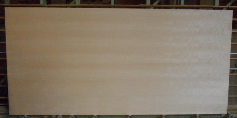 Birke-Multiplexplatte : Ansicht der Furnierbildes einer ganzen Platte, B-Seite