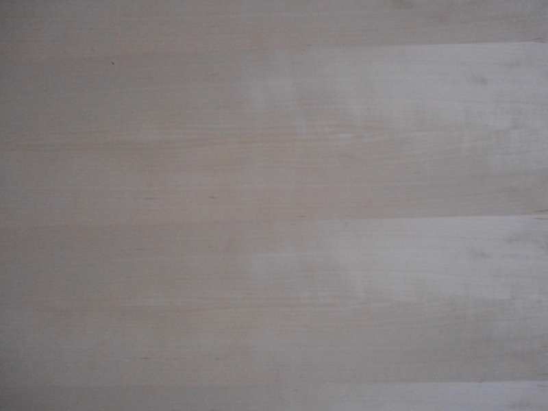 Birke-Multiplexplatte : Ansicht des Deck-Furniers, Messerfurniers