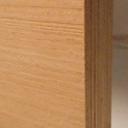 Bild von Buche-Multiplexplatten, messerfurniert, Birke-Innenlagen, 24mm, 250x125cm