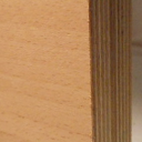 Bild von Buche-Multiplexplatten, messerfurniert, Birke-Innenlagen, 30mm, 250x125cm