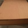Bild von Buche-Naturholzplatte 20mm, 100x122cm