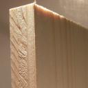 Bild von Fichte-Naturholzplatte 15mm, 124x101cm
