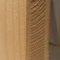 Bild von Fichte-Naturholzplatte 26mm, 124x101cm