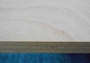 Gabun-Sperrholzplatte : Ansicht des Deckfurniers
