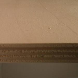 18mm Pappel-Sperrholzplatte : Ansicht der Kante