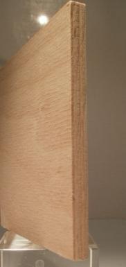 Bild von Buche-Sperrholzplatten, 8mm, beidseitig messerfurniert A/A, 252x172cm