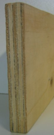 Nadelsperrholzplatte 15mm