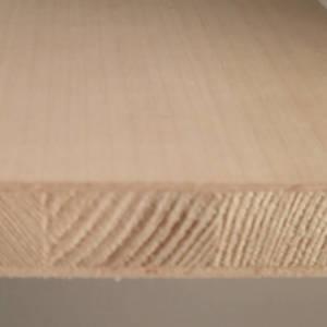 Ahorn-Tischlerplatten, messerfurniert