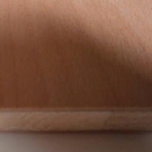Buche-Tischlerplatten, messerfurniert