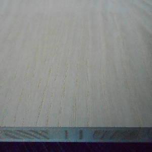 Esche-Tischlerplatten, messerfurniert