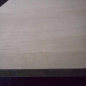 Gabun-Tischlerplatten, messerfurniert