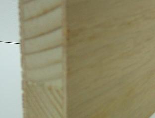 Bild von 19mm messerfurnierte Eiche-Tischlerplatte, 5-fach, 250x125cm