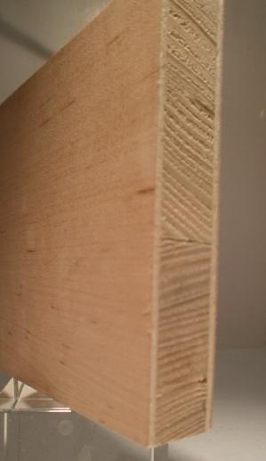 Furnieroberfläche Erle-Tischlerplatte