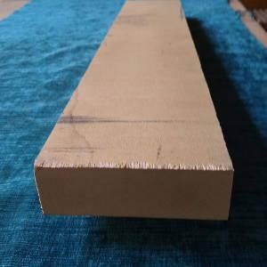 Ahorn-Brett, sägerauh, besäumt, ca. 36mm stark, 100mm breit