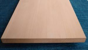 Buche-Brett, 25mm stark, 300 mm breit, aus ca. 6 bis 7 Lamellen verleimt