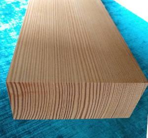 Unverleimtes gehobeltes Lärche-Brett, aus einem Stück, Lärcheholz