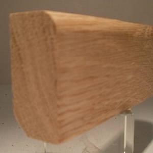 Fussleisten / Fußleiste aus Eiche, 20mm stark, 45mm hoch