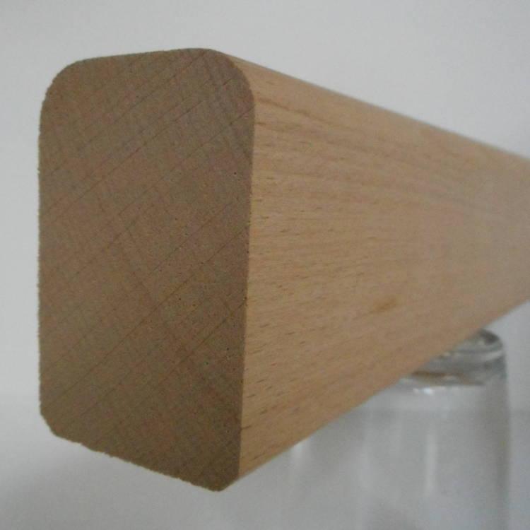 Buche-Handlauf 40x60mm