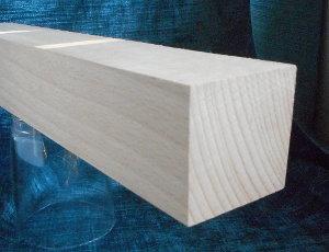 Buche-Quadratstab 50x50mm