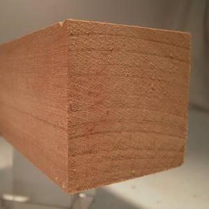 Mahagoni-Quadratstab, 30x30mm