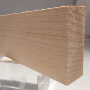 Ahorn-Rechteckleiste, rechteckige Ahorn-Holzleiste