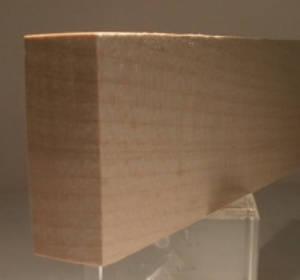 Birke-Rechteckleiste 20x50mm